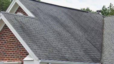 streaks on roof